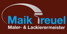 Malereibetrieb Maik Treuel - Logo